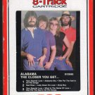 Alabama - The Closer You Get 1983 RCA A12 8-TRACK TAPE