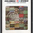 Chicago - Chicago Greatest Hits Vol II 1981 CBS A39 8-TRACK TAPE