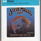 Steve Miller Band - Greatest Hits 1974-78 1978 CRC A39 8-TRACK TAPE