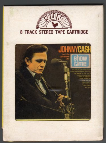 Johnny Cash - Showtime 1969 SUN T2 8-TRACK TAPE