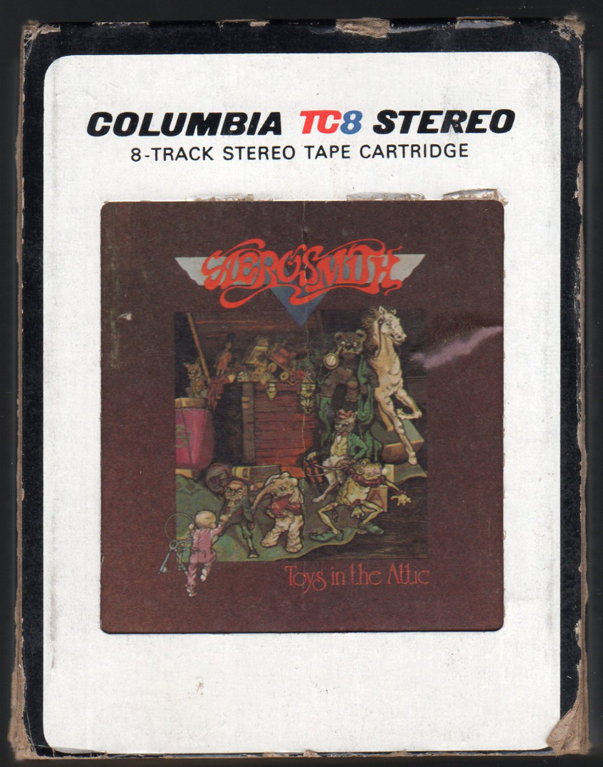 Aerosmith Toys In The Attic 1975 Cbs A39 8 Track Tape