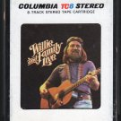 Willie Nelson - Willie and Family Live 1978 CBS A5 8-TRACK TAPE