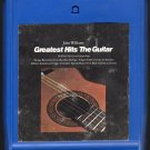 John Williams - The Guitar Greatest Hits 1972 CBS A18A 8-TRACK TAPE