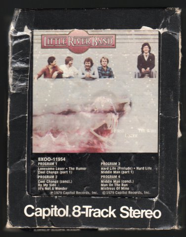 Little River Band - First Under The Wire 1979 CAPITOL A49 8-TRACK TAPE
