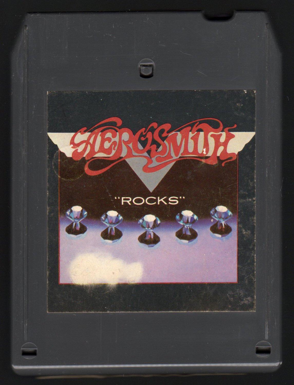 Aerosmith - Rocks 1975 CBS A45 8-TRACK TAPE