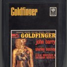 James Bond Goldfinger - Original Motion Picture Score 1964 UA Re-issue A20 8-TRACK TAPE