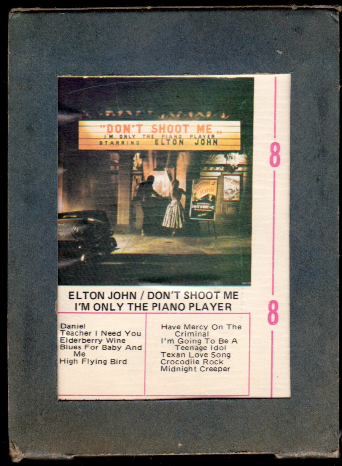 Elton John - Don't Shoot Me I'm Only The Piano Player 1972 RCA MCA A2...