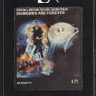 James Bond Diamonds Are Forever - Original Soundtrack 1971 UA Re-issue A20 8-TRACK TAPE