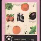 Cream - Best Of Cream 1969 ATCO A20 8-TRACK TAPE
