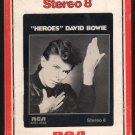 David Bowie - Heroes 1977 RCA A20 8-TRACK TAPE