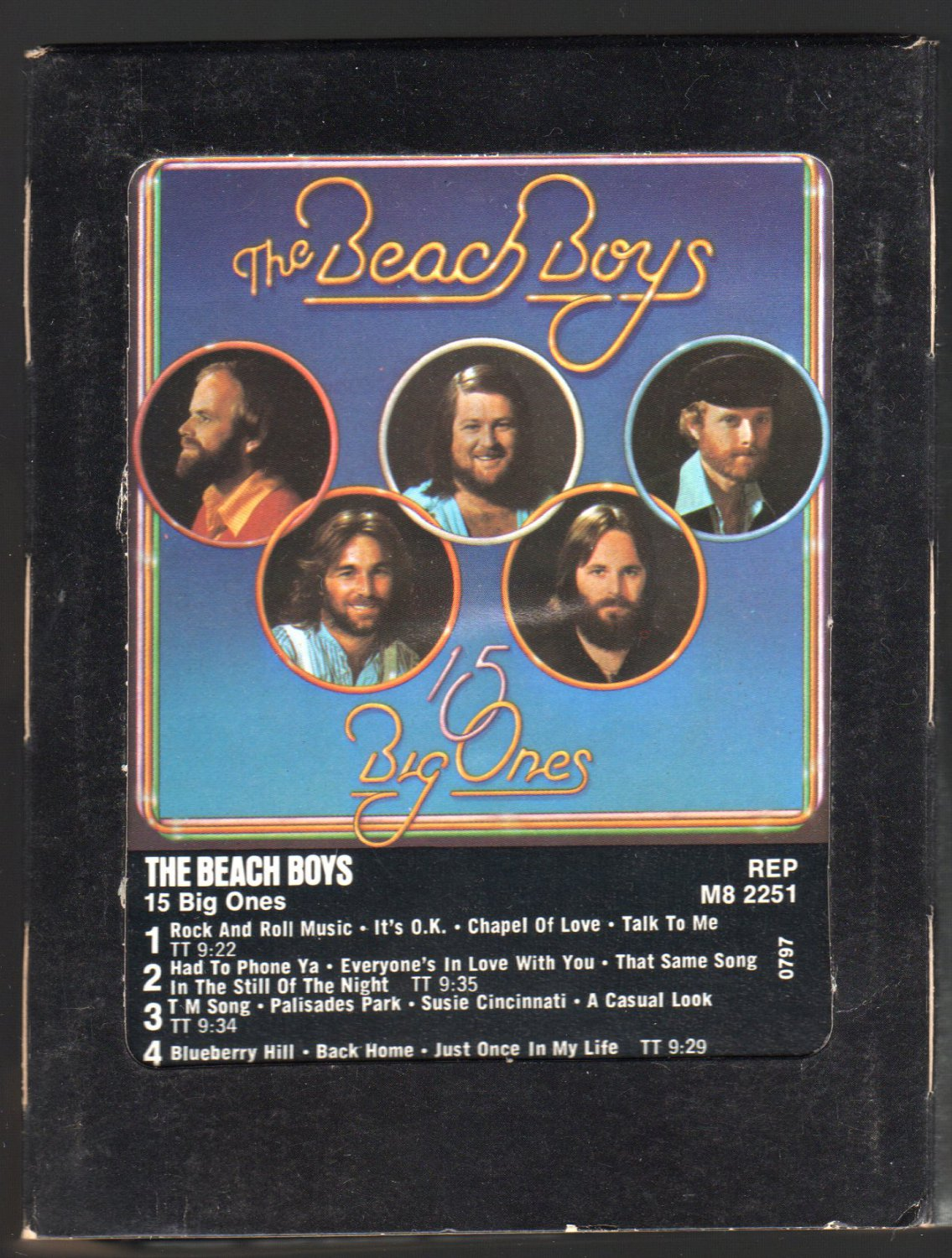 The Beach Boys - 15 Big Ones 1976 WB REPRISE A43 8-TRACK TAPE