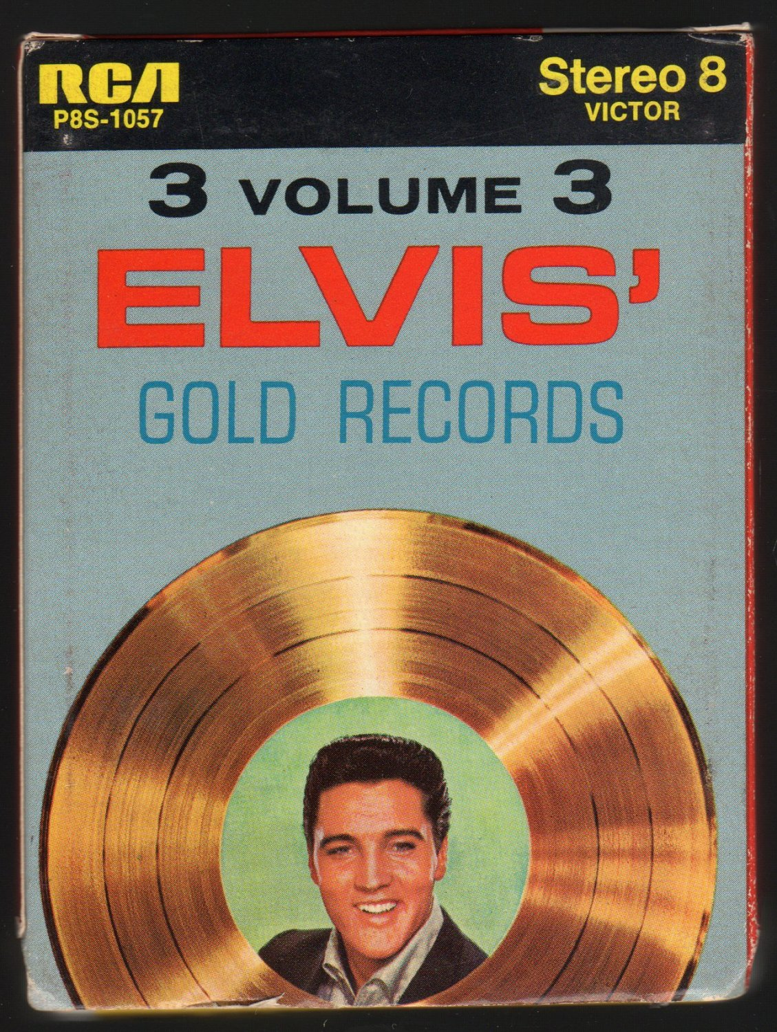 Elvis Presley - Gold Records Vol 3 1963 RCA Re-issue A43 8-TRACK TAPE