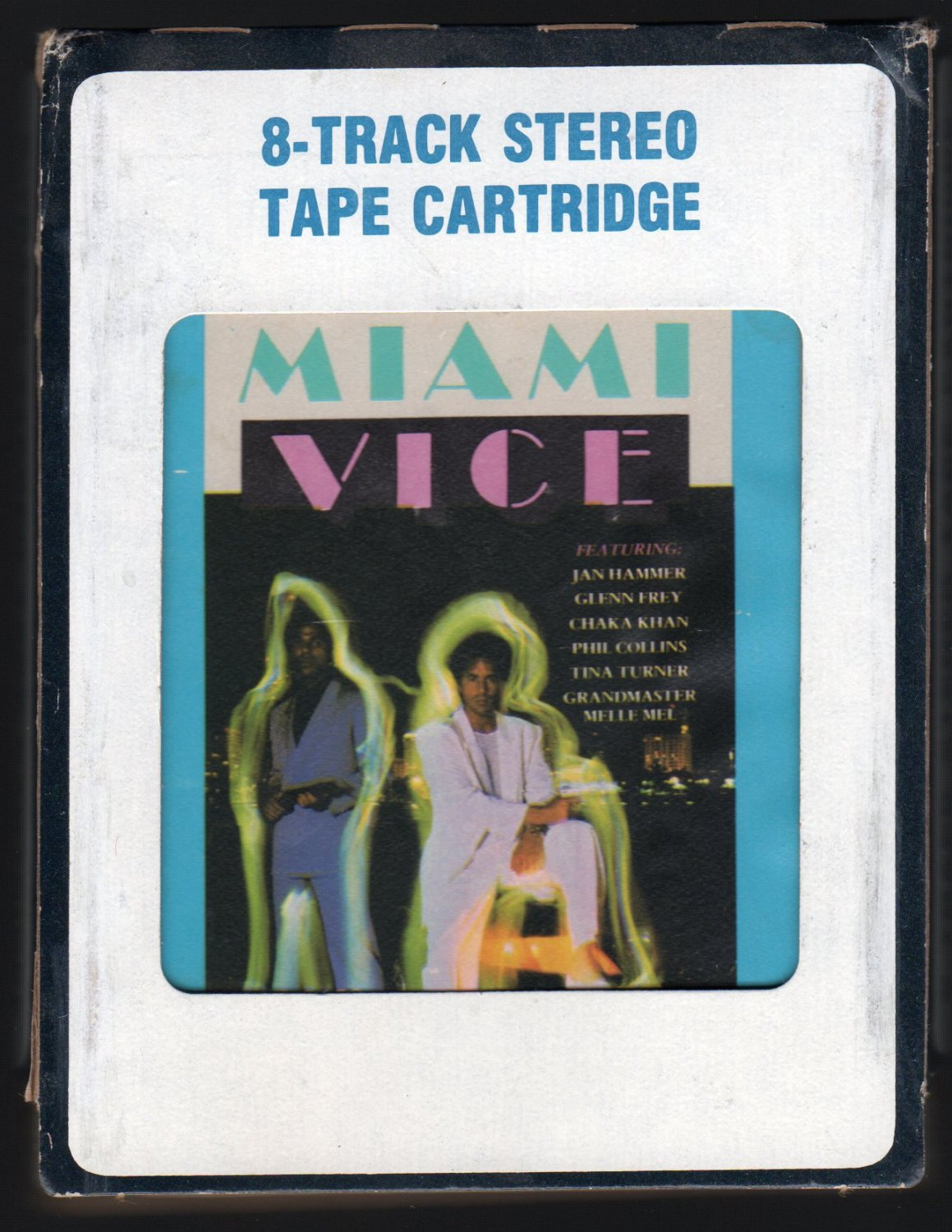 Miami Vice - Music From The Television Series 1985 CRC A44 8-TRACK TAPE