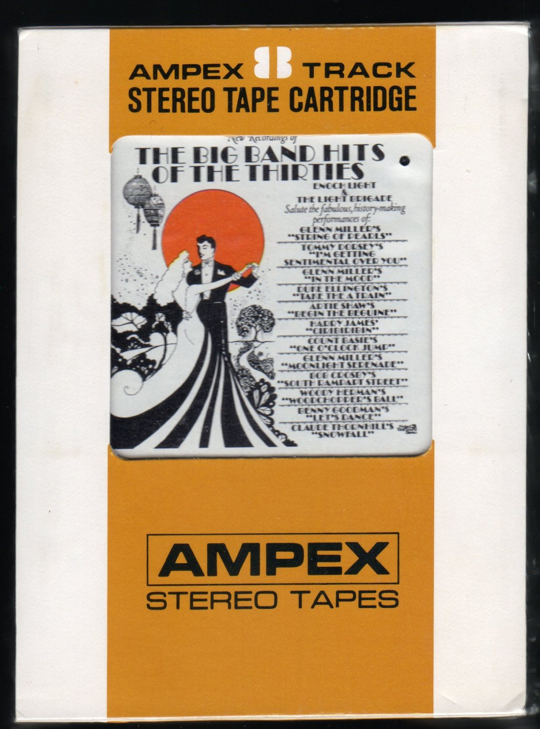 Enoch Light & Light Brigade - Big Band Hits Of The 30's 1971 AMPEX PROJECT3 Sealed A4 8-TRACK TAPE