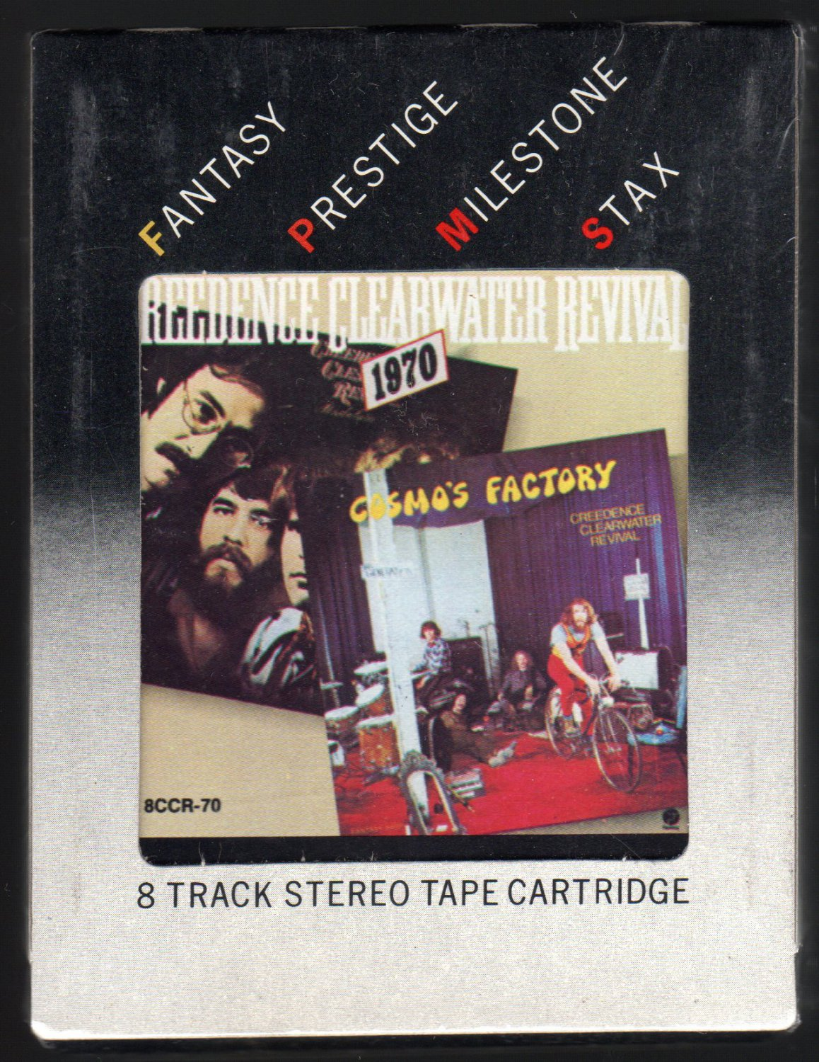 Creedence Clearwater Revival - 1970 Cosmos Factory + Pendulum 1978 FANTASY Sealed A4 8-TRACK TAPE
