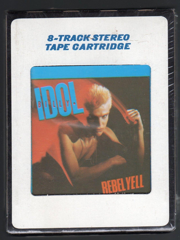 Billy Idol - Rebel Yell 1983 CRC Sealed A25 8-TRACK TAPE