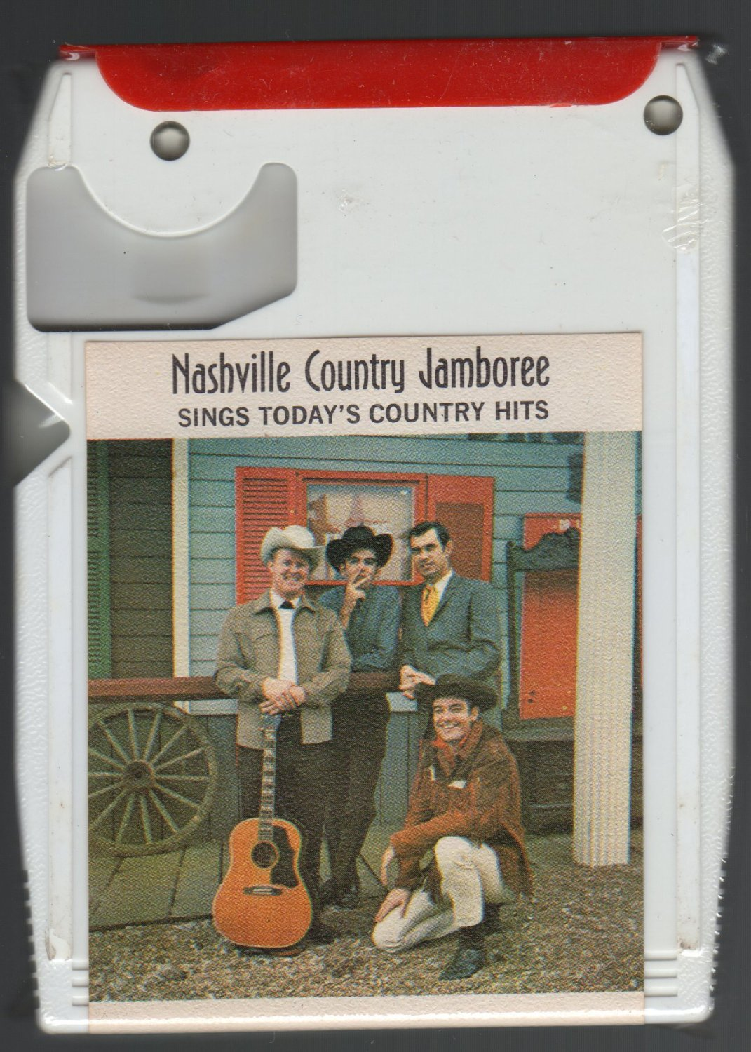 Nashville Country Jamboree - Sings Today's Country Hits SPAR 3012 Sealed A4 8-TRACK TAPE