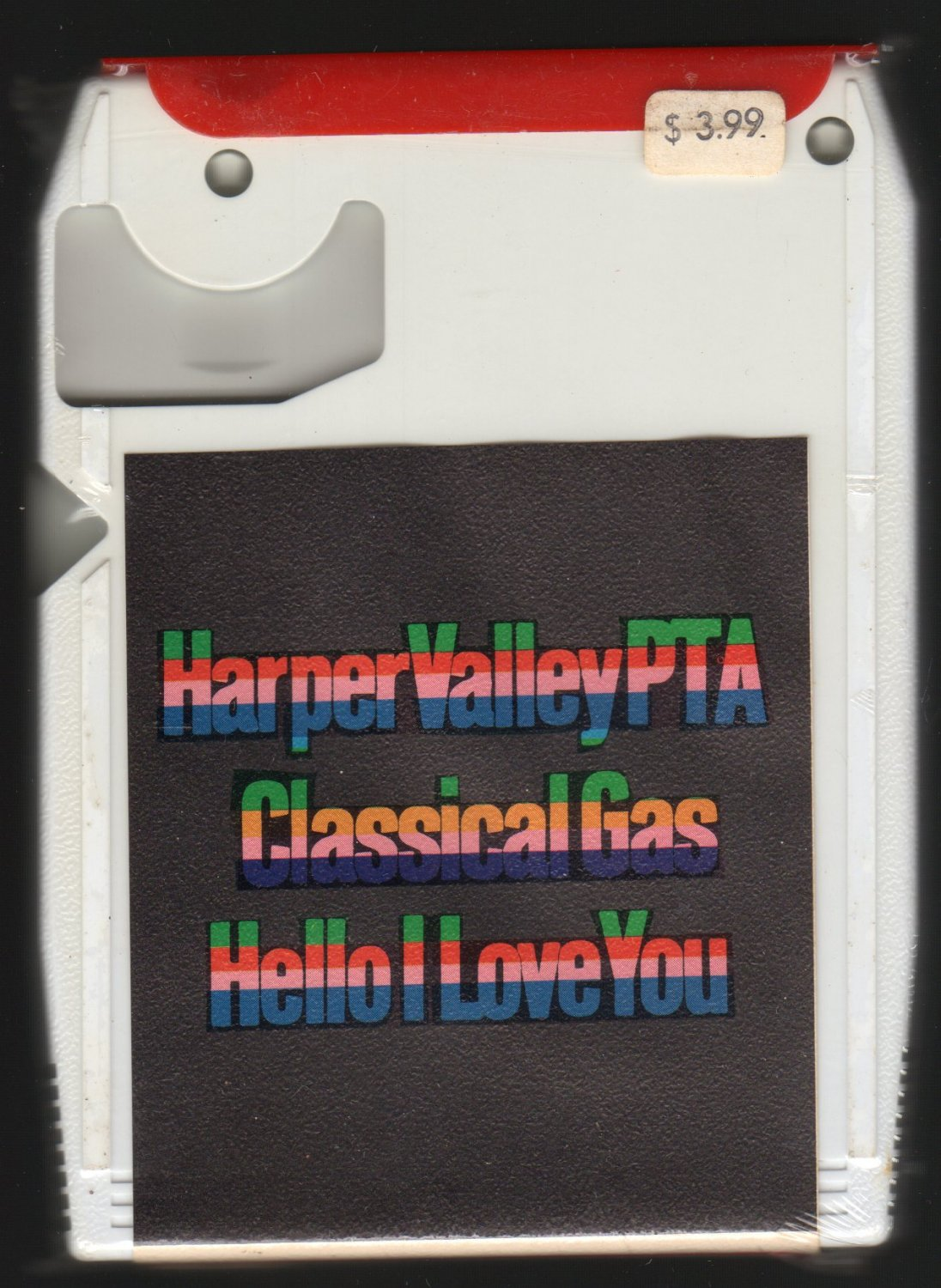 Harper Valley P.T.A. And Other Great Hits SPAR 1024 Sealed A4 8-TRACK TAPE