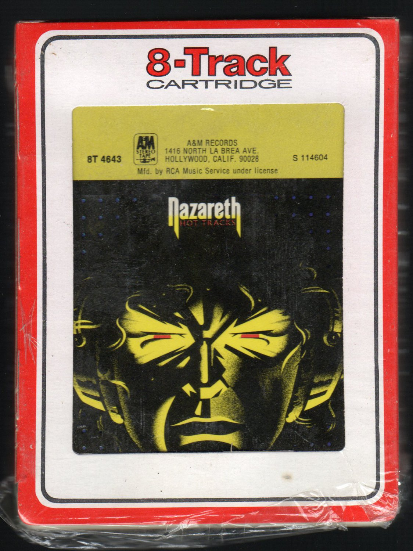 Nazareth - Hot Tracks 1976 RCA A&M A48 8-TRACK TAPE