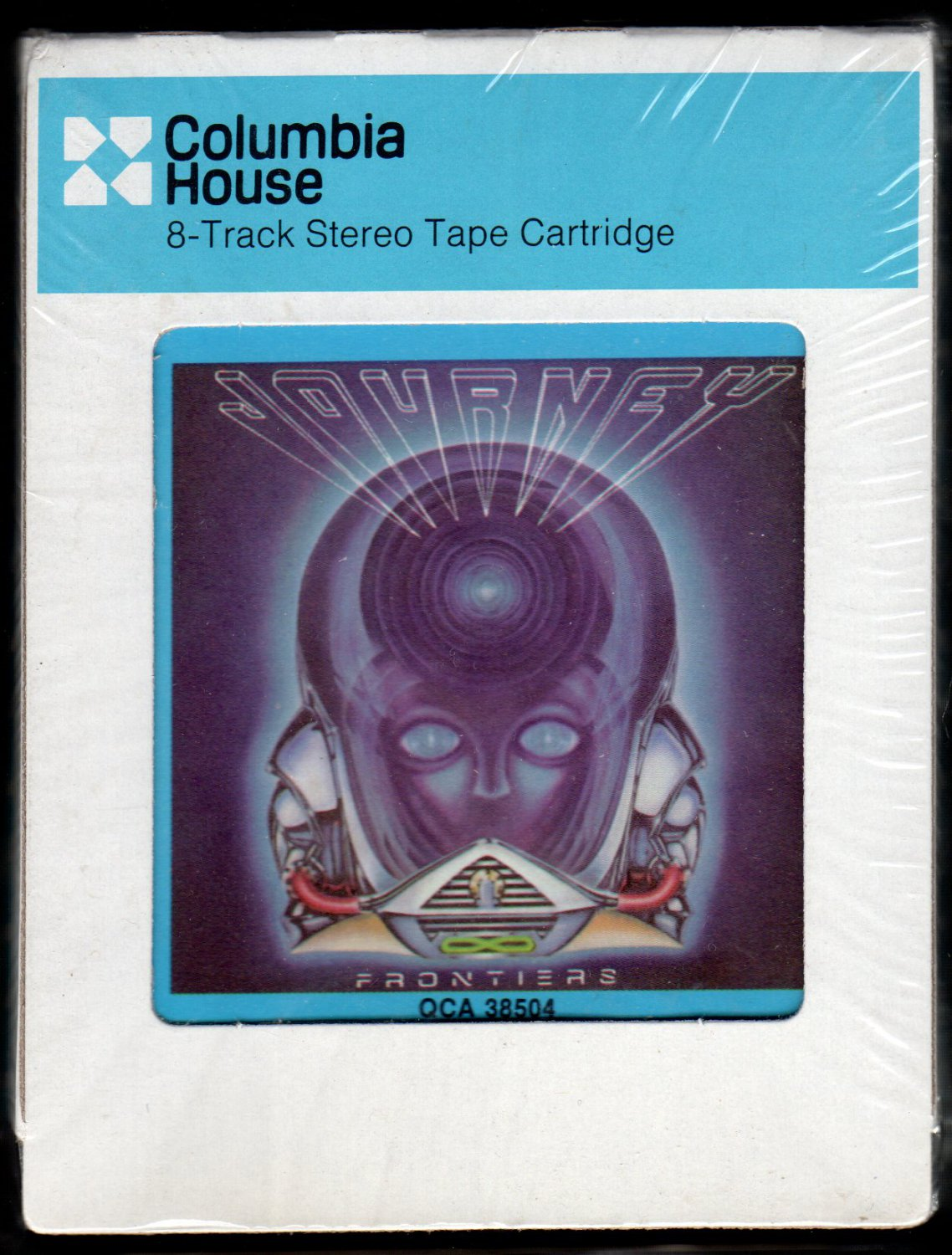 Journey - Frontiers 1983 CRC A50 8-TRACK TAPE
