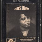 "James Brown - ""Black Caesar"" Original Soundtrack 1973 POLYDOR A4 8-TRACK TAPE"