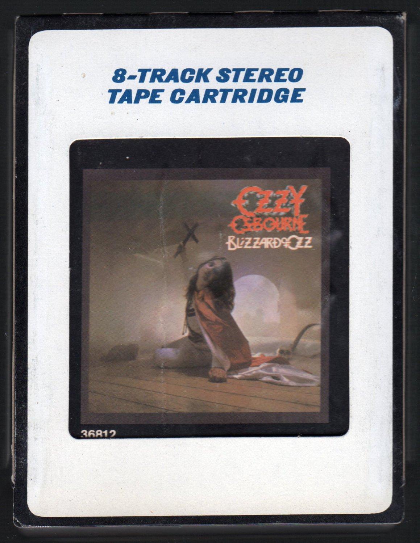 Ozzy Osbourne - Blizzard Of Ozz 1981 CRC JET A4 8-TRACK TAPE