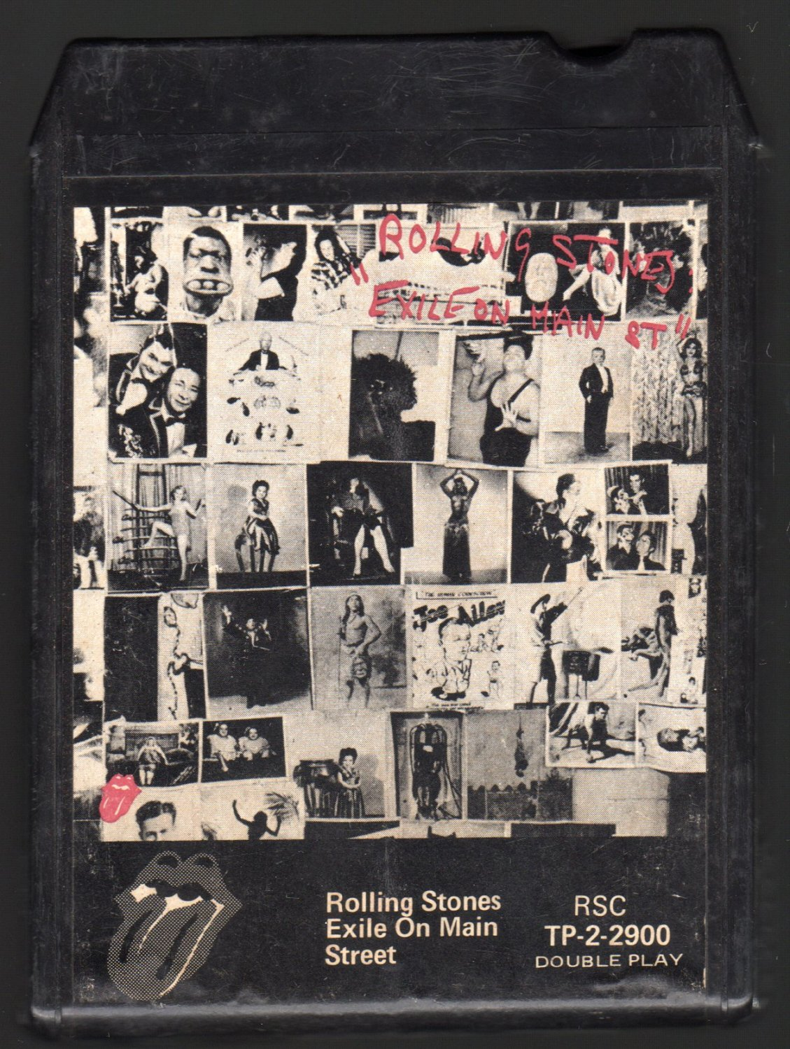 Rolling Stones - Exile On Main Street 1972 MUSIDOR Double Play A4 8-TRACK TAPE