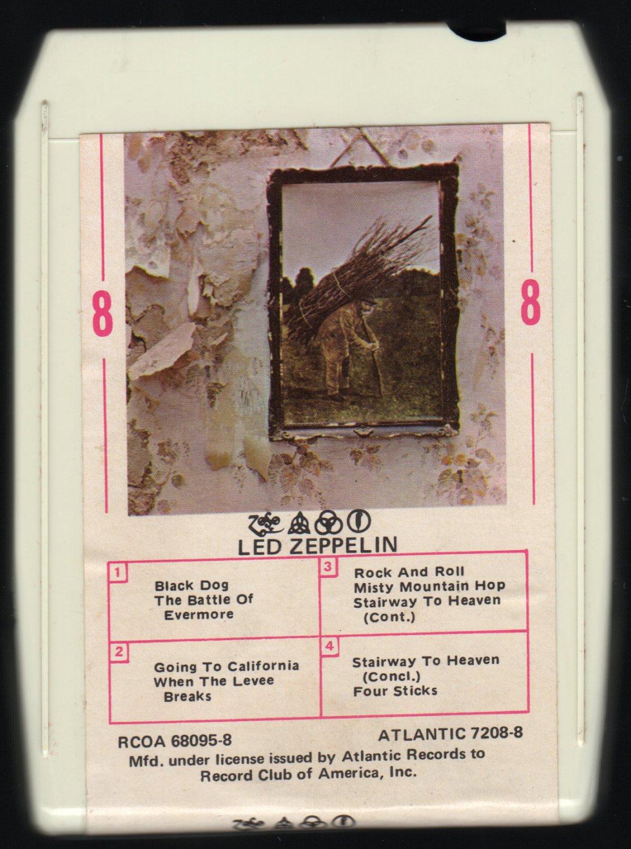 Led Zeppelin - Led Zeppelin IV ZOSO 1971 RCA A26 8-TRACK TAPE