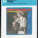 Hank Williams Sr. - Greatest Hits Vol. 2 1977 CRC A26 8-TRACK TAPE