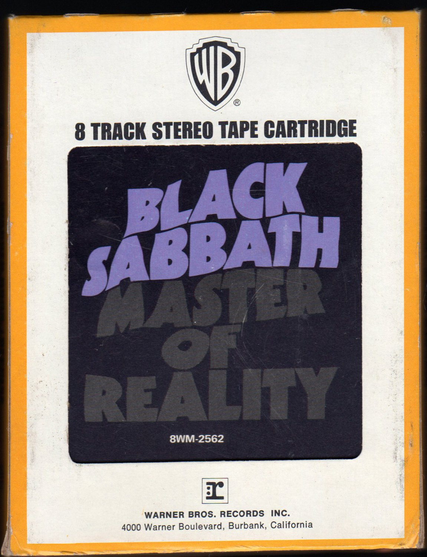 Black Sabbath - Master Of Reality 1971 WB A19A 8-TRACK TAPE