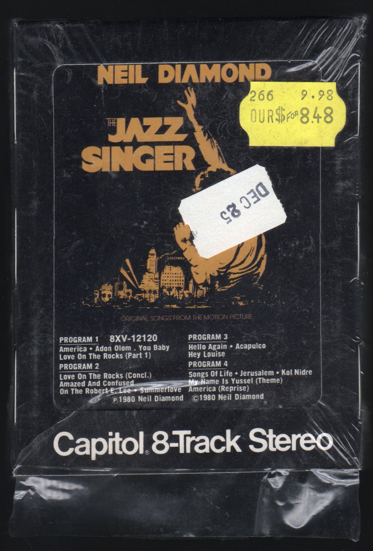 Neil Diamond - The Jazz Singer Soundtrack 1980 CAPITOL A2 8-TRACK TAPE