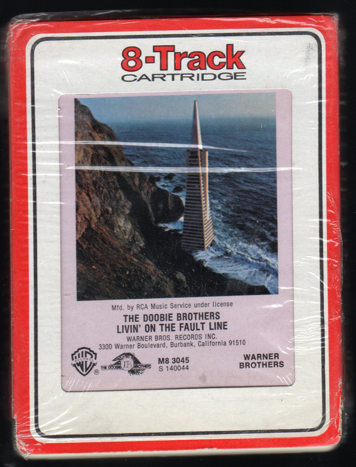 The Doobie Brothers - Livin' On The Fault Line 1977 RCA WB A42 8-TRACK TAPE