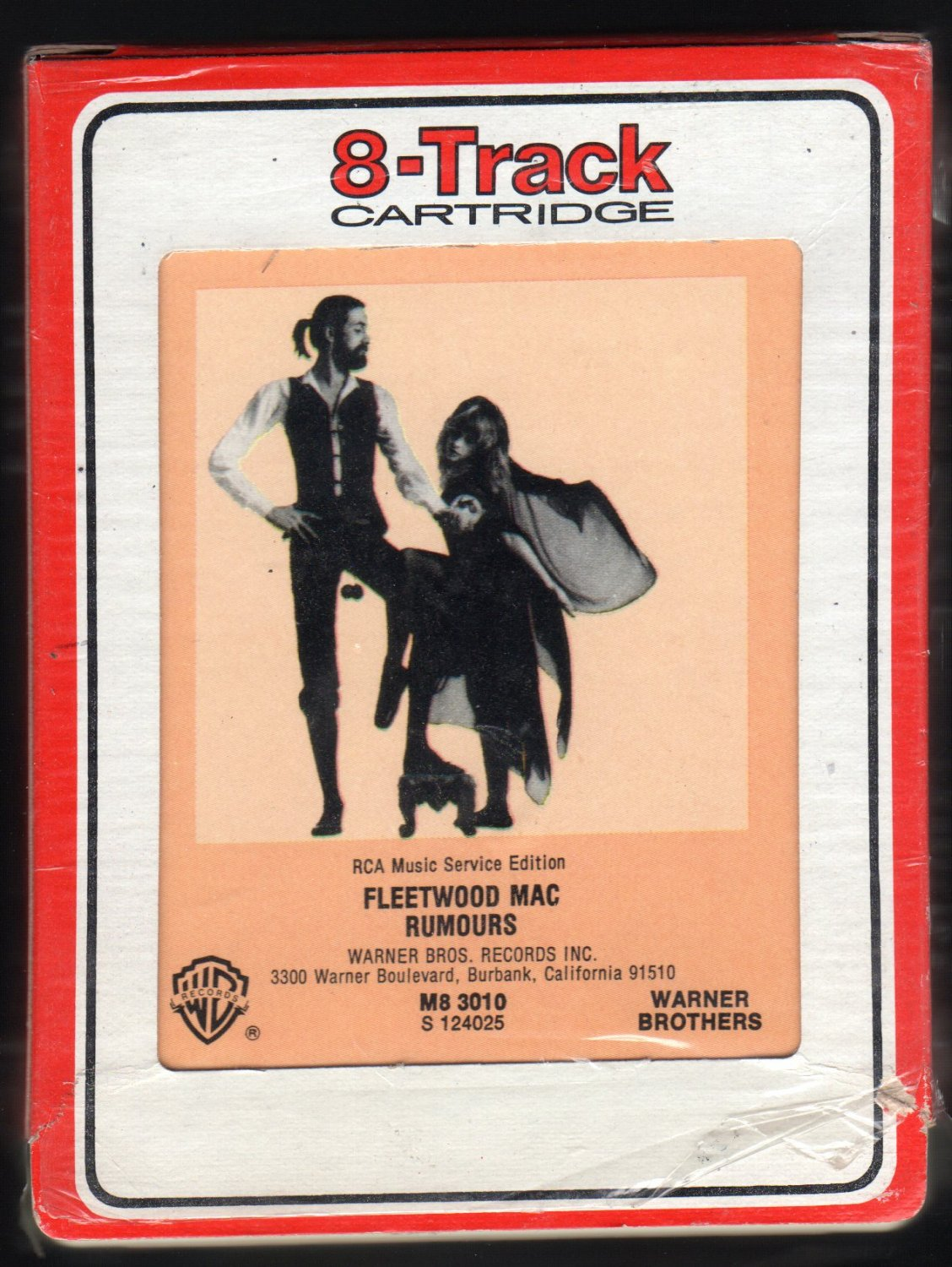 Fleetwood Mac - Rumours 1977 RCA WB A42 8-TRACK TAPE