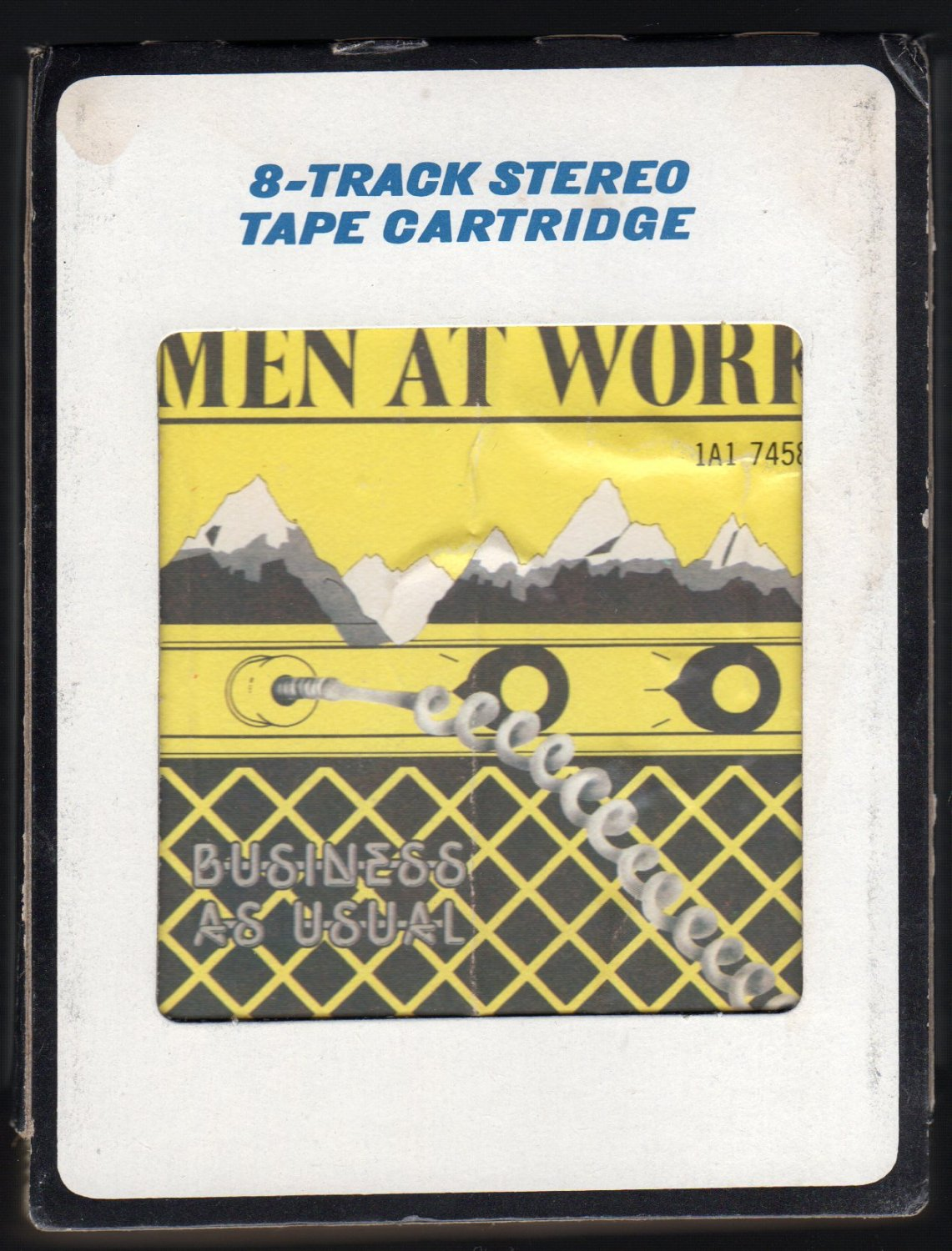 Men At Work - Business As Usual 1982 Debut CRC A2 8-TRACK TAPE