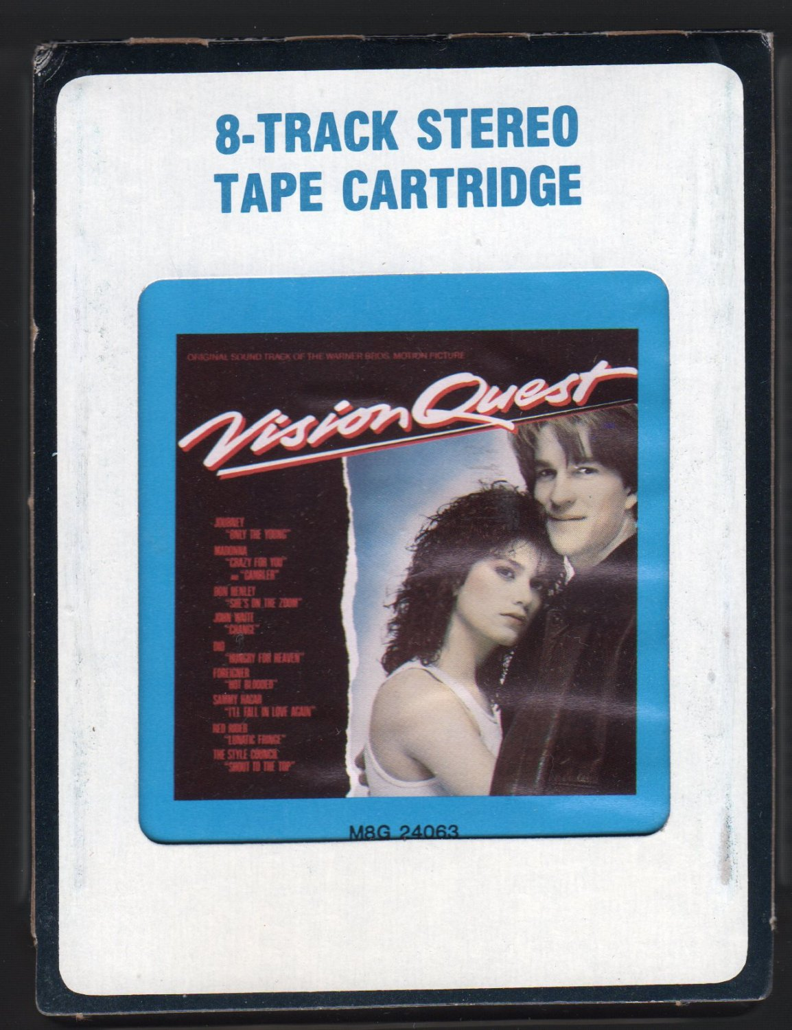 Vision Quest - Motion Picture Soundtrack 1985 CRC A42 8-TRACK TAPE