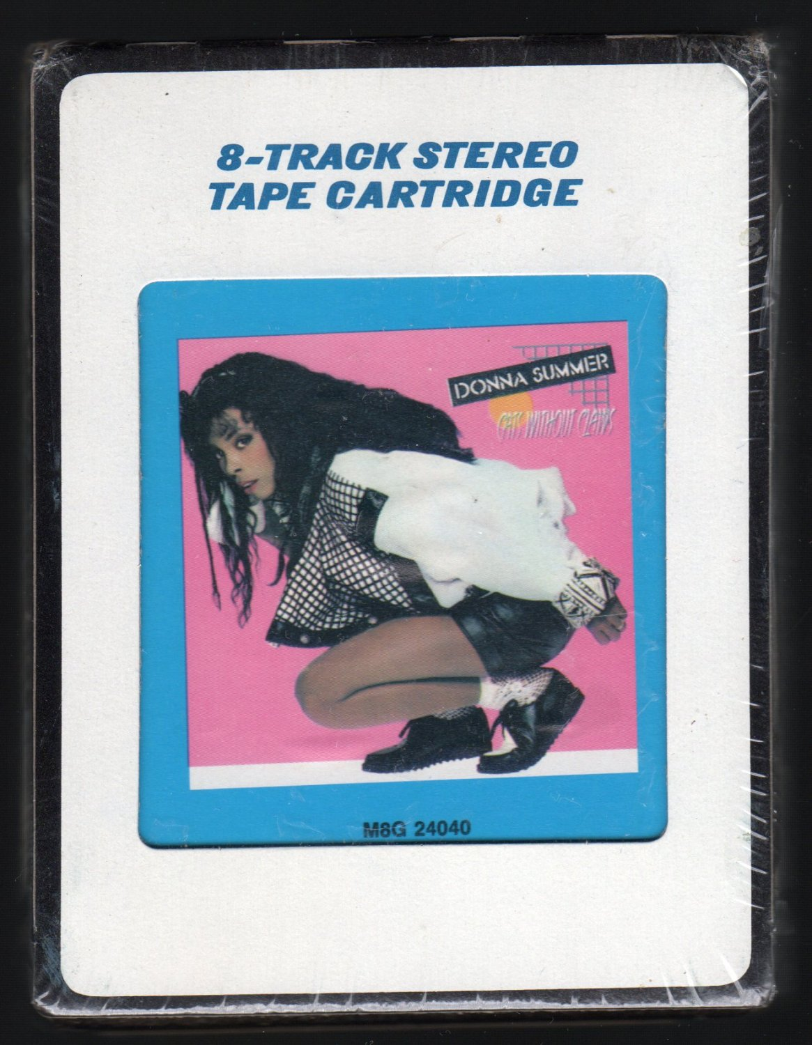 Donna Summer - Cats Without Claws 1984 CRC Sealed A25 8-TRACK TAPE