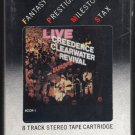 Creedence Clearwater Revival - Live In Europe 1973 FANTASY Sealed A25 8-TRACK TAPE
