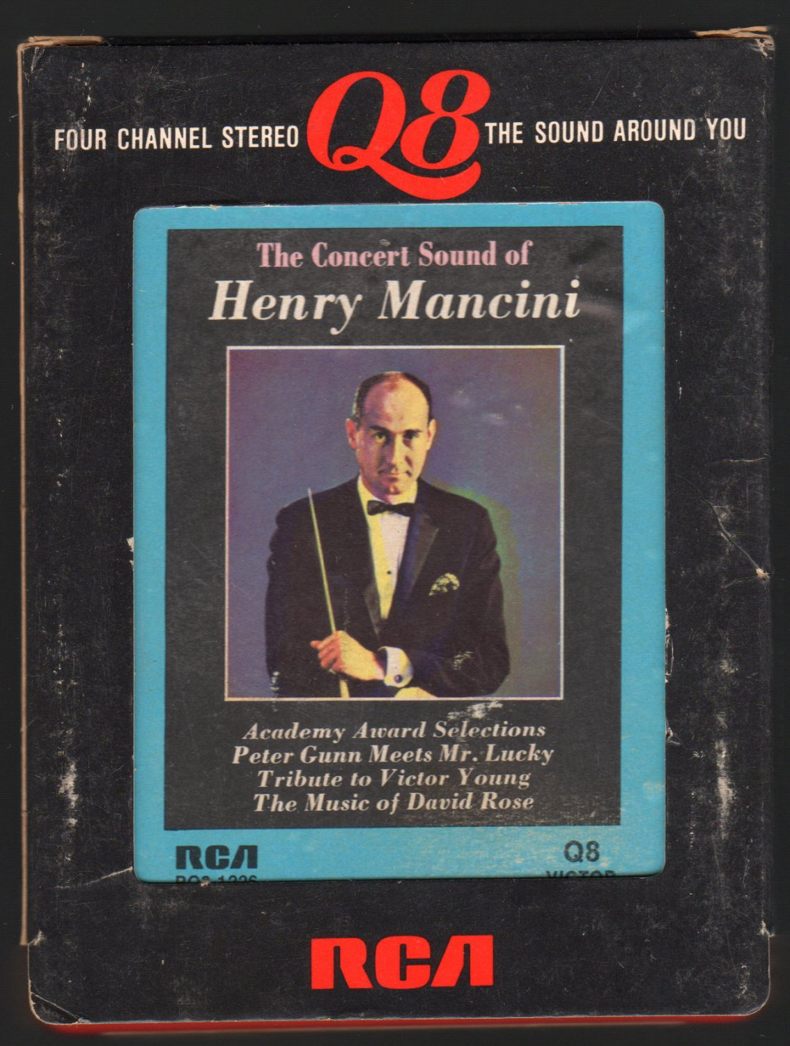 Henry Mancini - The Concert Sound Of Henry Mancini 1964 RCA Re-issue Quadraphonic A45 8-TRACK TAPE