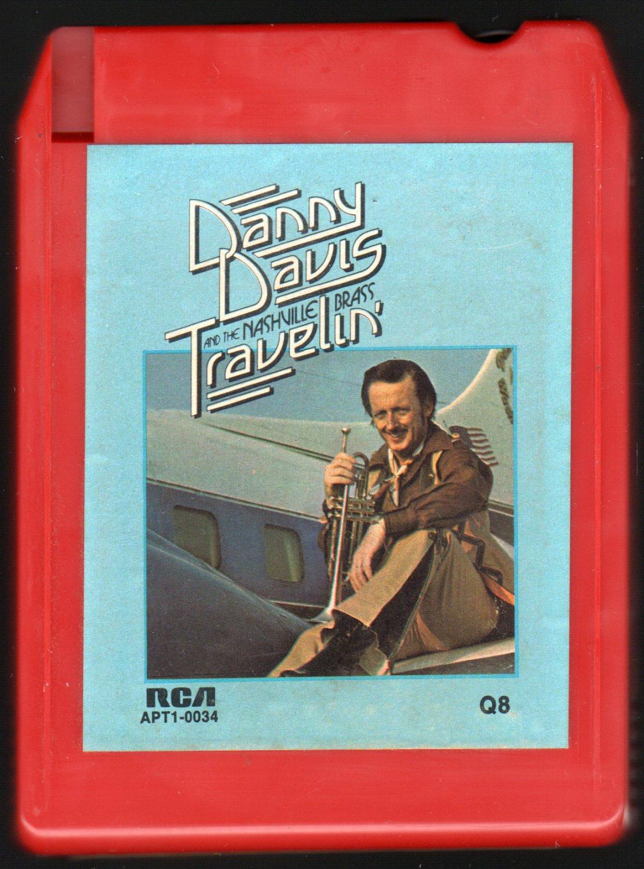 Danny Davis And The Nashville Brass - Travelin' 1973 RCA Quadraphonic A45 8-TRACK TAPE