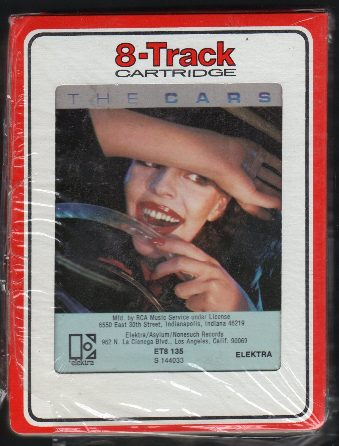 The Cars - The Cars 1978 Debut RCA ELEKTRA A45 8-TRACK TAPE