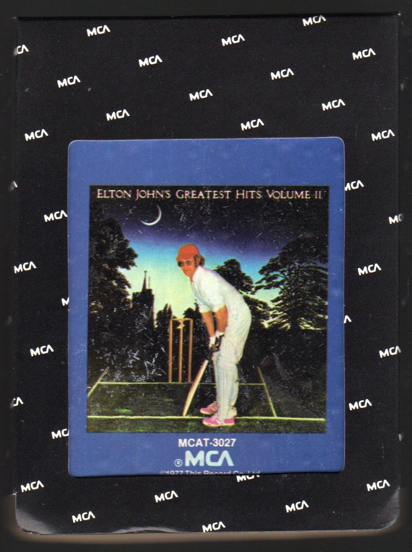 Elton John - Elton John's Greatest Hit's Vol II 1976 MCA A45 8-TRACK TAPE