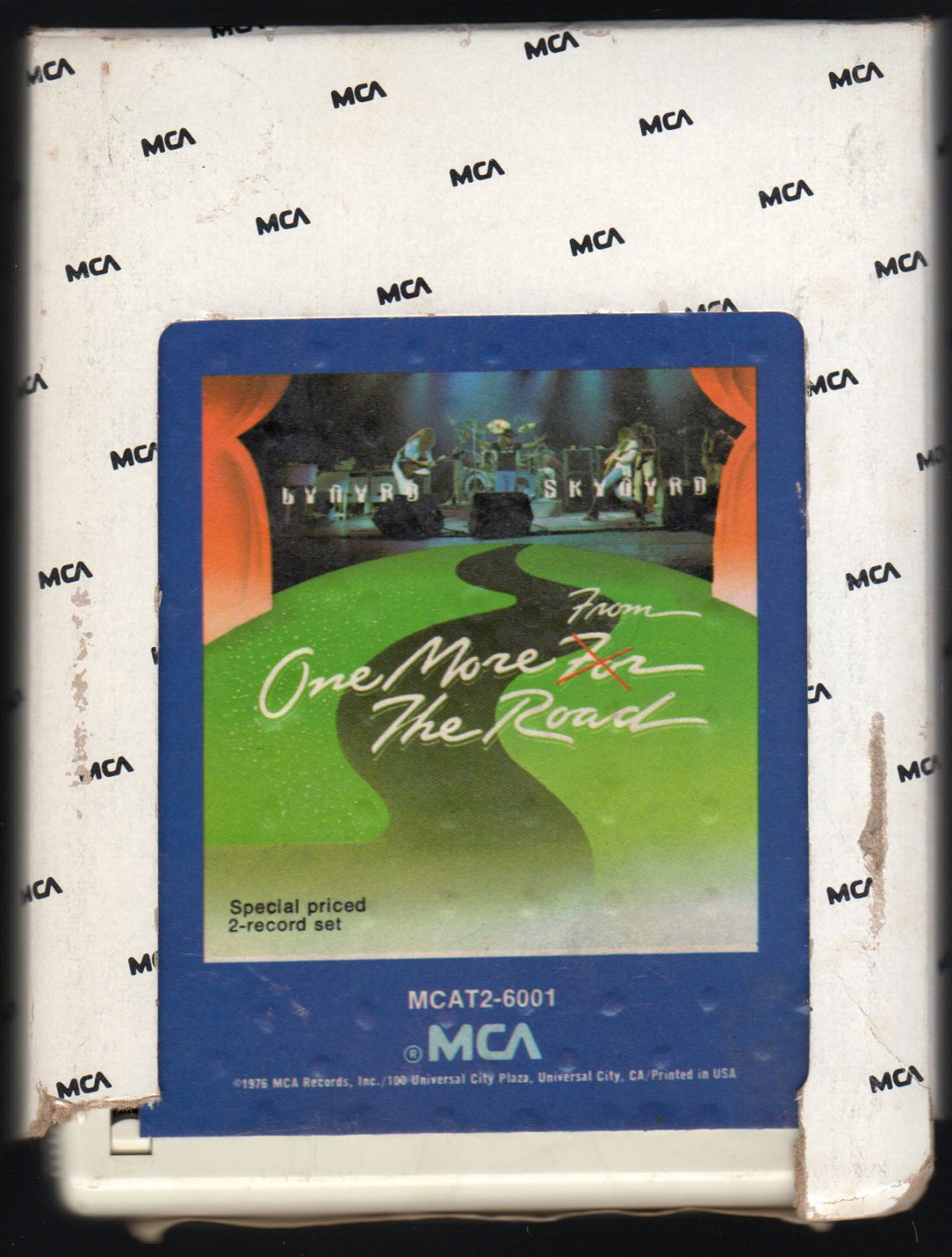 Lynyrd Skynyrd - One More From The Road 1976 MCA A15 8-TRACK TAPE
