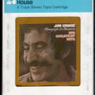 Jim Croce - Photographs & Memories His Greatest Hits 1974 CRC LIFESONG A45 8-TRACK TAPE