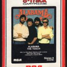 Alabama - The Touch 1986 RCA A21C 8-TRACK TAPE