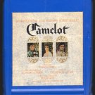 Camelot - Original Broadway Cast 1965 CBS A21C 8-TRACK TAPE