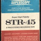 Superscope 8TR-45 - 45 Minute Blank Demo A21C 8-TRACK TAPE
