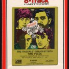 The Rascals - Time Peace Greatest Hits 1968 RCA ATLANTIC Re-issue A17B 8-TRACK TAPE
