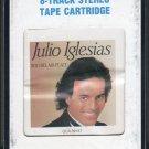 Julio Iglesias - 1100 Bel Air Place 1984 CRC A41 8-track tape
