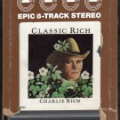 Charlie Rich - Classic Rich 1978 EPIC A15 8-TRACK TAPE