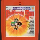 California Sun - 1960's Various Rock Artists 1976 KTEL A21C 8-TRACK TAPE